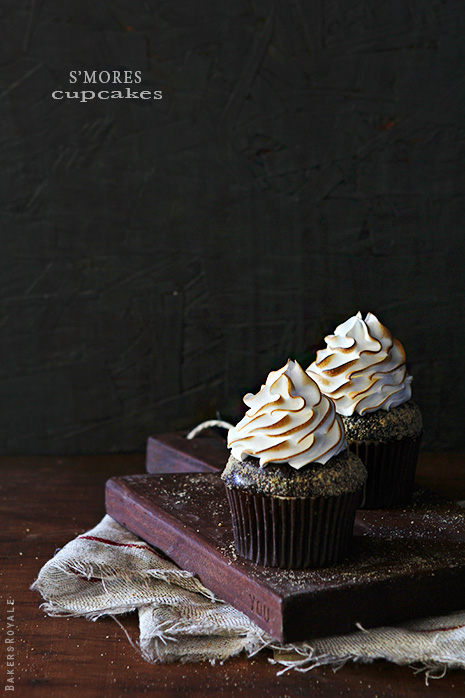 Smores Cupcakes by Bakers Royale21
