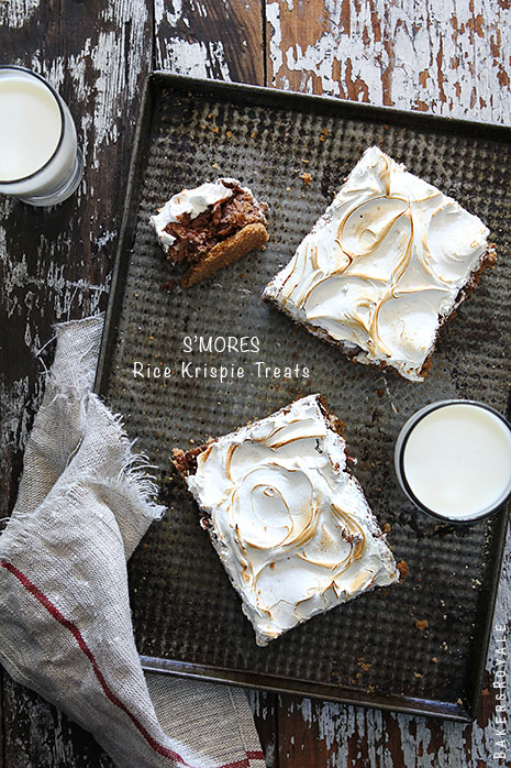Smores Rice Krispie Treats by Bakers Royale copy1