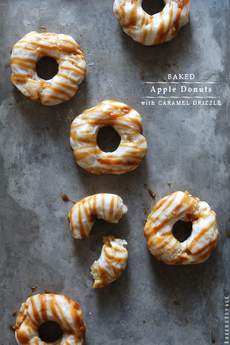Apple Donuts by Bakers Royale1