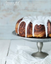 Cinnamon Roll Bundt Cake by Bakers Royale3 210x260
