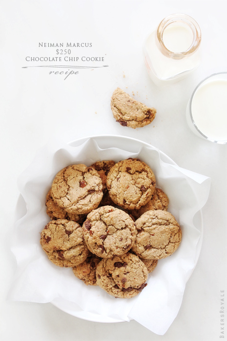 Neiman Marcus Chocolate Chip Cookie Recipe by Bakers Royale11