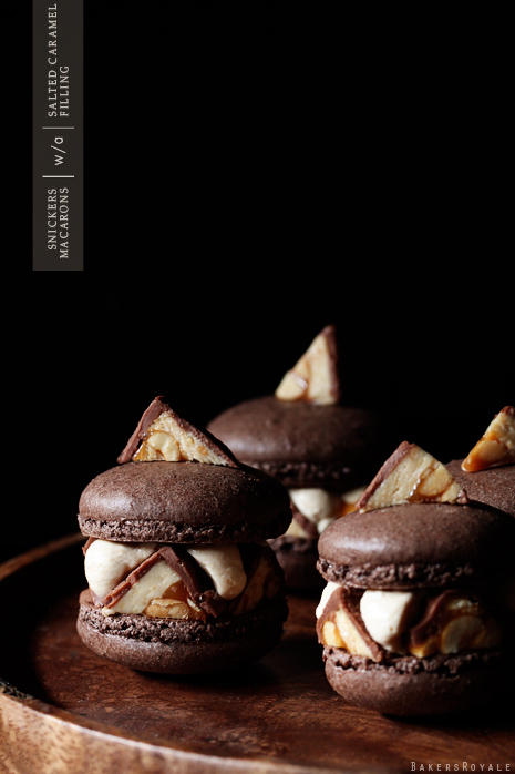 Snickers Macaron by Bakers Royale Snickers Macaron