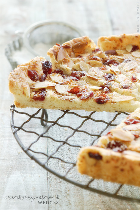 Cranberry Almond Wedges from Bakers Royale for BHG