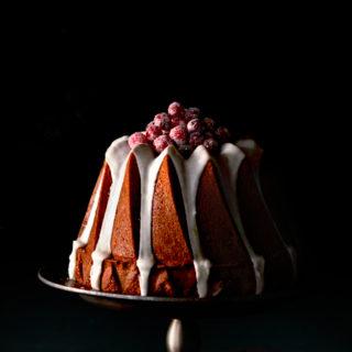 Cranberry-Citrus & Coconut Cake