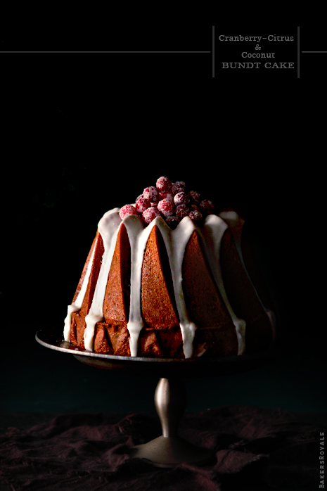 Cranberry Orange and Coconut Cake via Bakers Royale11