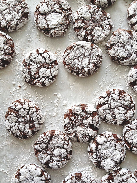 Peppermint Crinkle Cookies from BakersRoyale1