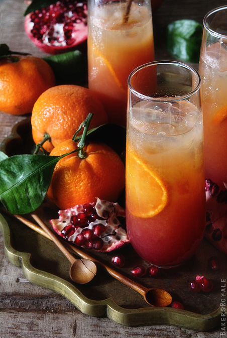 Satsuma and Pomegranate Campari 1 via Bakers Royale1
