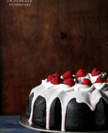 Low Fat Chocolate Pound Cake
