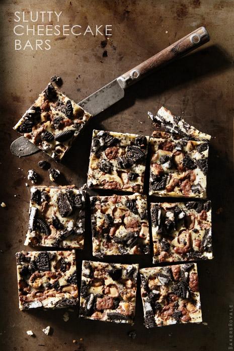 Slutty Cheesecake Bars | Bakers Royale