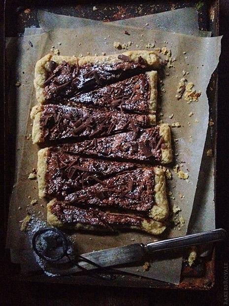 Brownie Pie via Bakers Royale