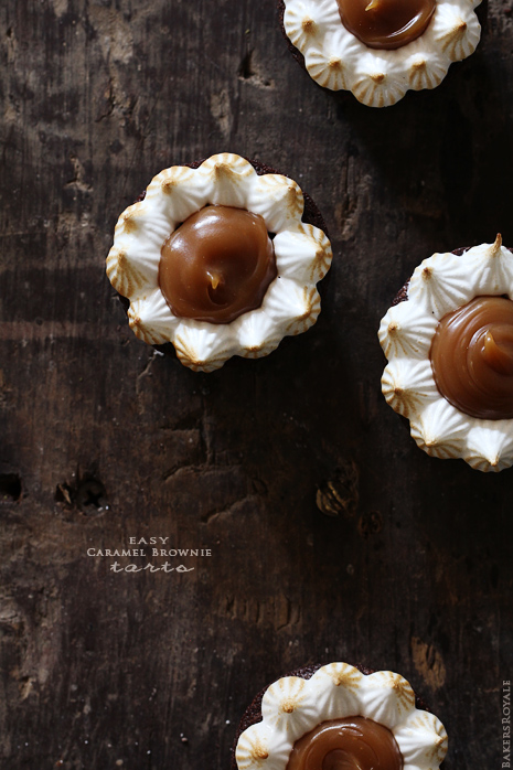 Caramel Brownie Tarts
