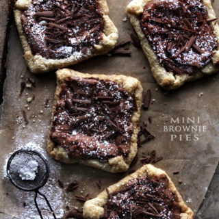 Brownie Pies