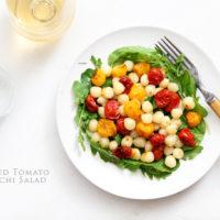 Roasted Tomato Gnocchi Salad