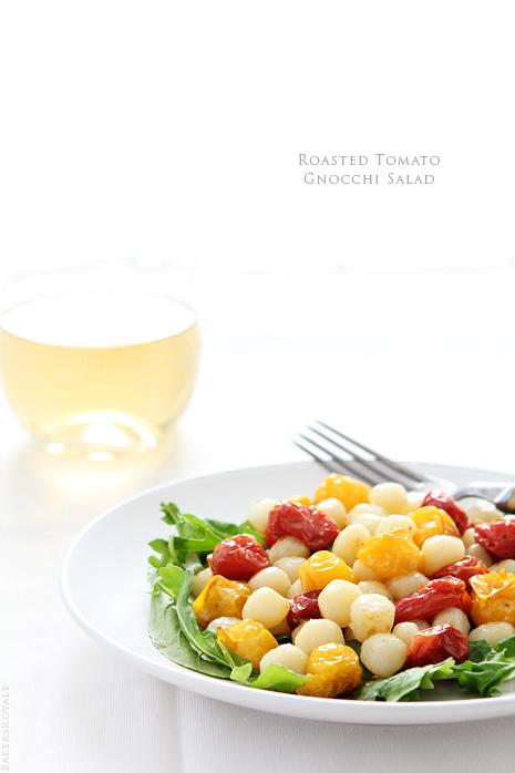 Roasted Tomato Gnocchi Salad via Bakers Royale