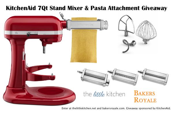 KitchenAid® ProLine® 7-Quart Stand Mixer and KitchenAid® Pasta Attachment Review