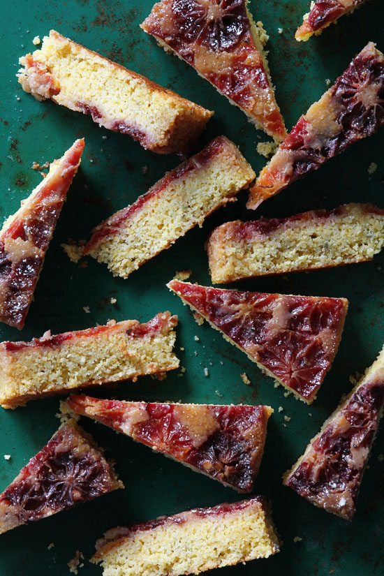 Blood Orange Upside Cake via Bakers Royale