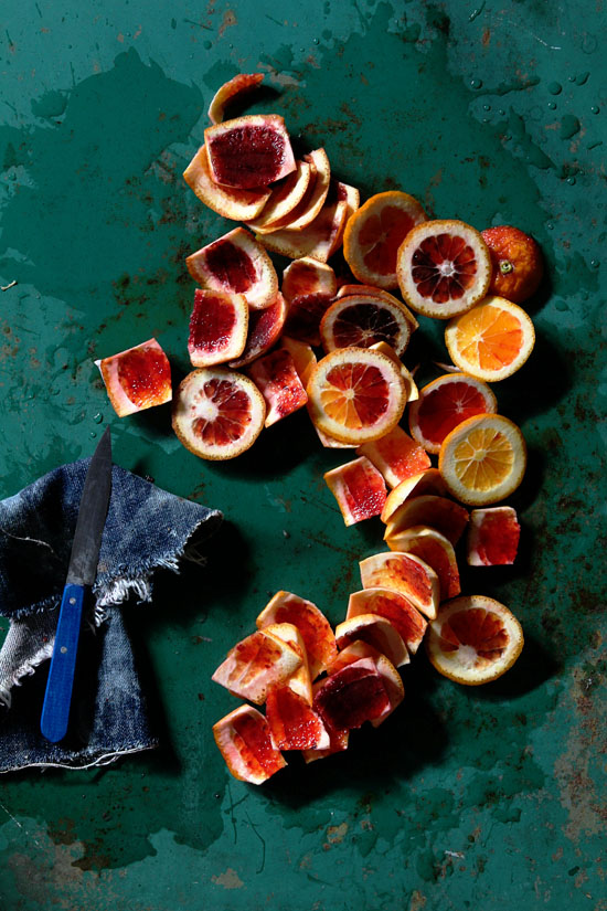 Blood Oranges via Bakers Royale