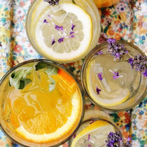 Citrus and Herb Vodka Tonic