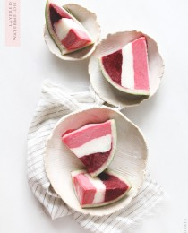 Layered Sorbet Watermelon Wedges via Bakers Royale 210x260