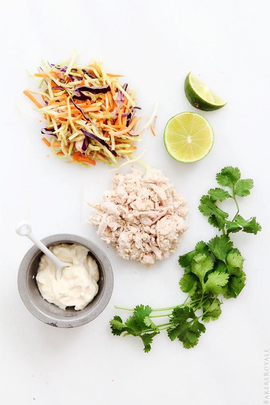 Skinny Grilled Chicken Sandwich Ingredients via Bakers Royale