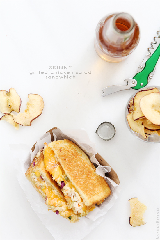 Skinny Grilled Chicken Sandwich via Bakers Royale