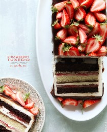Strawberry Tuxedo Cake from BakersRoyale 210x260