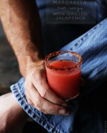Strawberry and Grapefruit Jalapeno Margarita from Bakers Royale