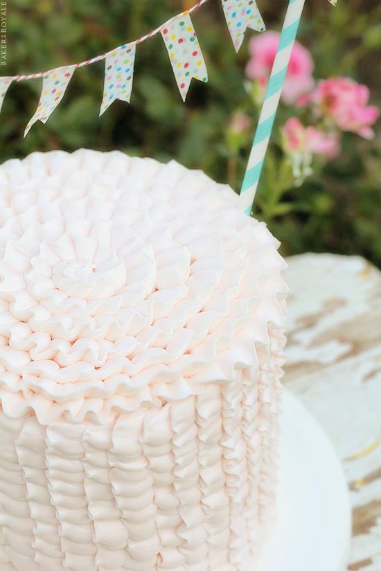 Bakers Royale Ruffle Cake