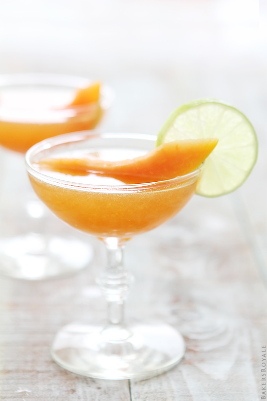 Cantaloupe Daiquiri via Bakers Royale