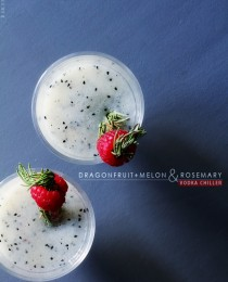 Dragon + Melon and Rosemary Vodka Chiller via BakersRoyale