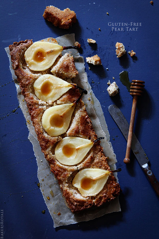 Gluten-Free Pear Tart from Bakers Royale