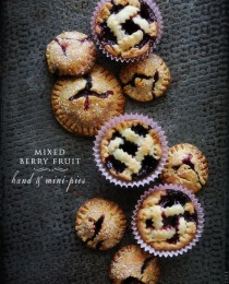 Mixed Berry Hand & Mini Pies via Bakers Royale