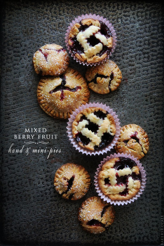 Mixed Berry Hand-Pies