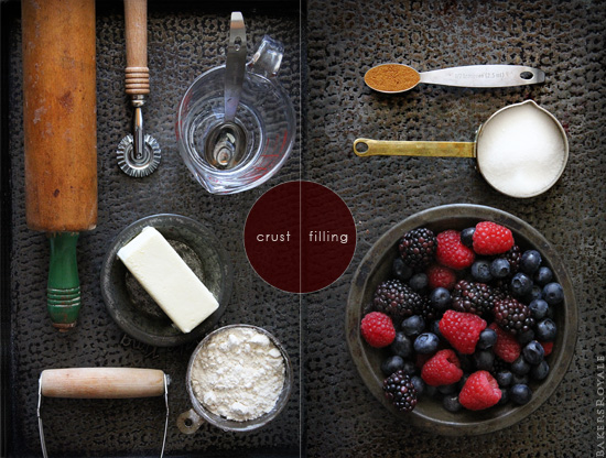Mixed Berry Pie_Ingredients via Bakers Royale
