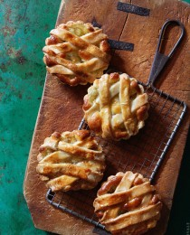 Apple Tarts via Bakers Royale 210x260
