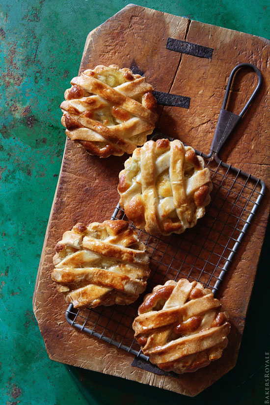 Apple Tarts via Bakers Royale