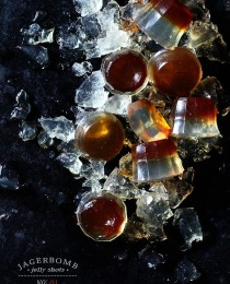 Jagerbomb Jelly Shot via Bakes Royale 210x260