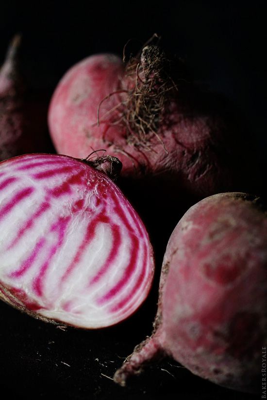 Candy Cane Beets via Bakers Royale