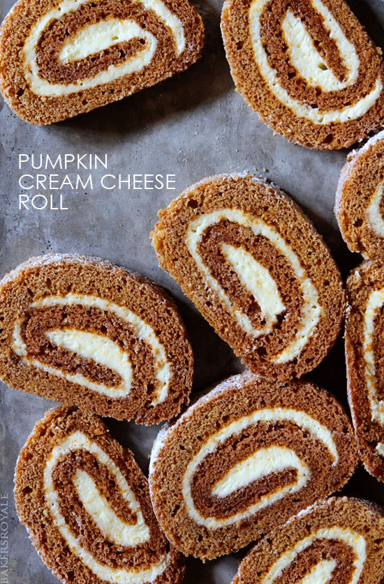 Pumpkin Roll from Bakers Royale