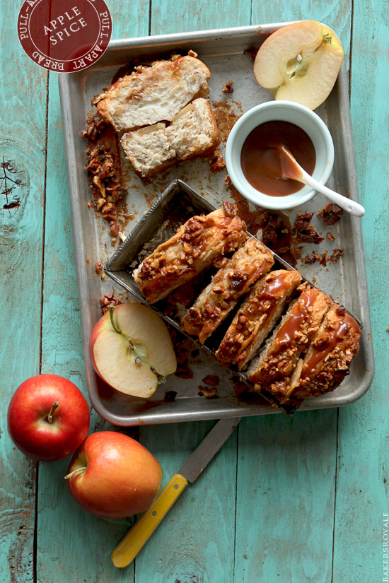 Apple Spice Pull Apart Bread from Bakers Royale