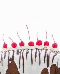 Cherries and Cream Quick Bread by Bakers Royale 210x260