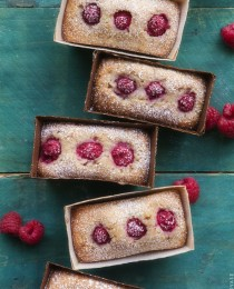 Coconut and Raspberry Financier from Bakers Royale