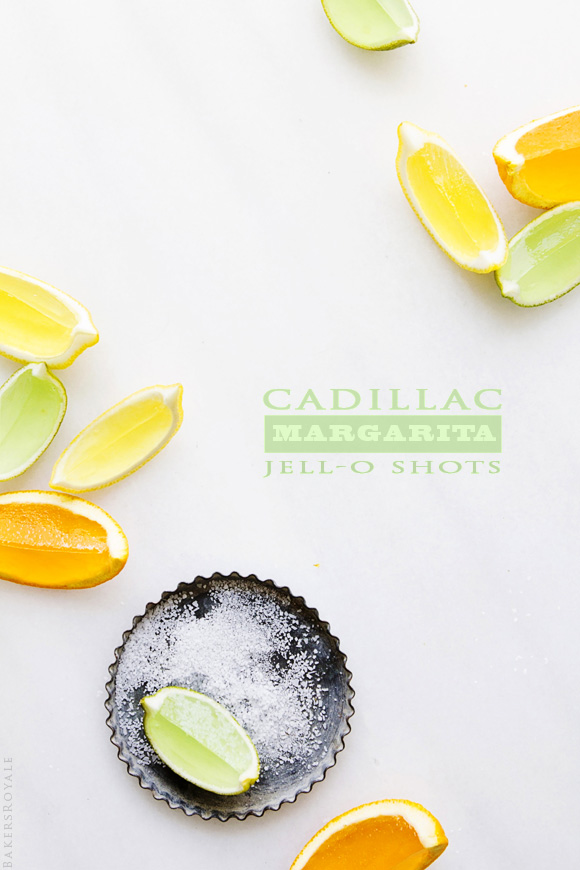 SASSY SNACKS| Cadillac Margarita Jello Shots