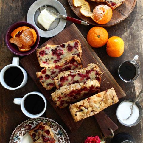 Cranberry & Coconut Bread
