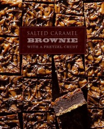 Salted Caramel Brownie with a Pretzel Crust via Bakers Royale1 210x260