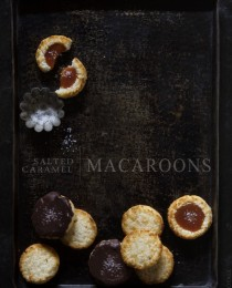 Salted Caramel Macaroon Thumbprints via Bakers Royale