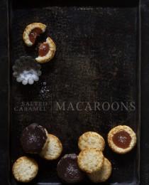 Salted Caramel Macaroon Thumbprints via Bakers Royale 210x260