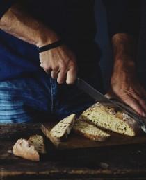 3Cinnamon Raisin Irish Soda Bread Slicing  Bakersroyale 210x260