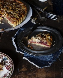 Almond and Raspberry Tart by Bakers Royale 210x260