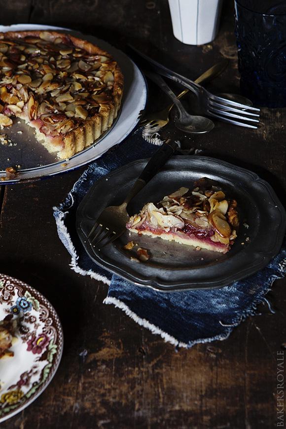 Almond and Raspberry Tart